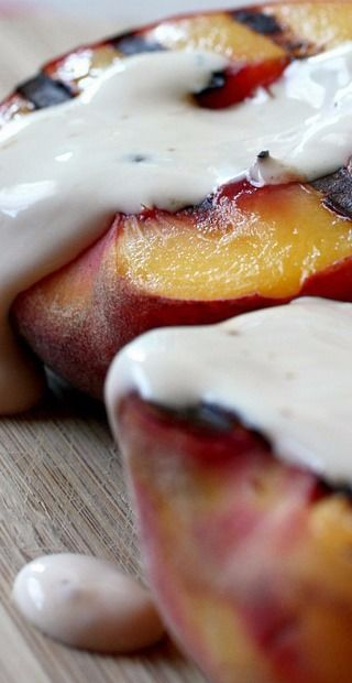 ... about Peaches on Pinterest | Peach cake, Snack cakes and Peach crumble
