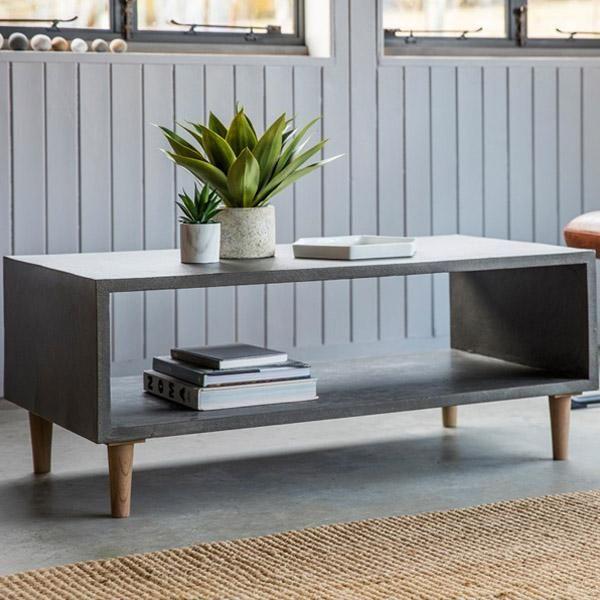 Redmond Reclaimed Elm Coffee Table H O M E In 2019 Concrete