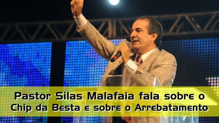 Pastor Silas MALAFAIA DIZ PODEM LEVAR O CHIP Á VONTADE, NA TESTA NA MÃO ...