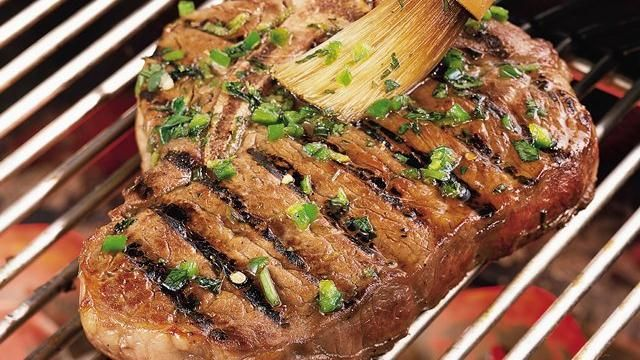 Looking for a beef dinner? Then check out these grilled steaks flavored with tequila, jalape�o chiles, citrus and cilantro � a scrumptious meal.