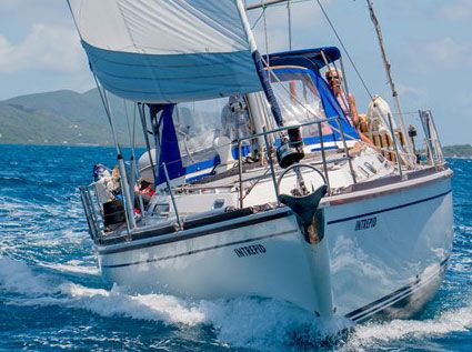 Westerly Oceanlord 41  Reduced to £79,950 A true ocean going yacht owned and sa…