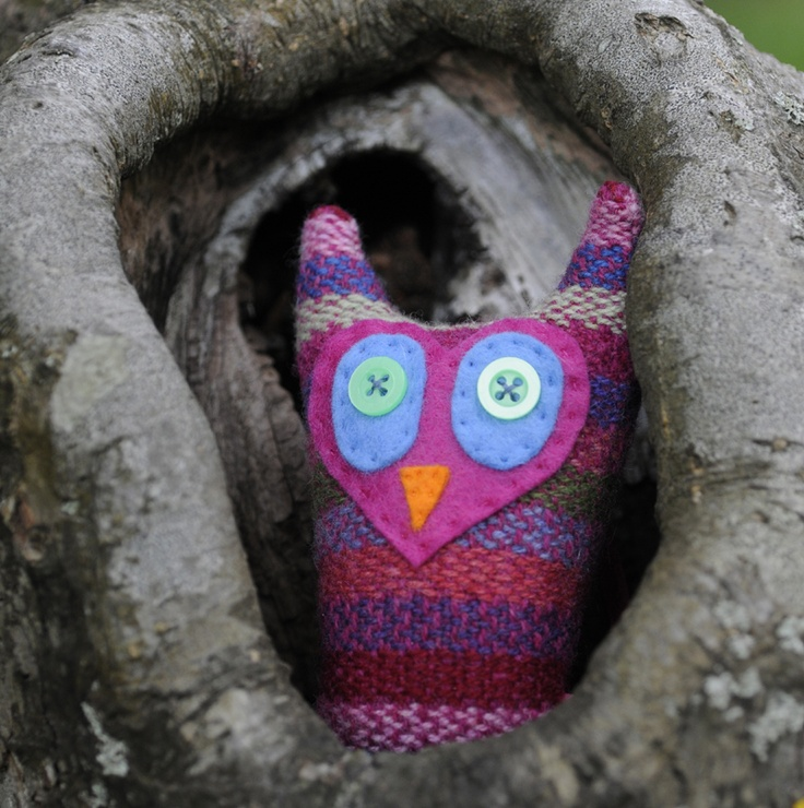 Wise Owl, by Sally Weatherill