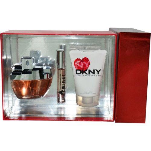 DKNY MY NY by Donna Karan EAU DE PARFUM SPRAY 3.4 OZ & BODY LOTION 3.4 OZ & EAU DE PARFUM .33 OZ ROLLERBALL