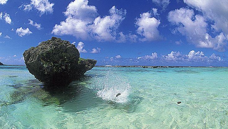 Rota island, Saipan.