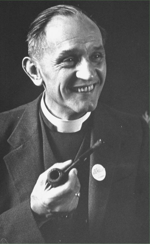 """Martín Niemöller. Autor del pomea: """"Primero vinieron por los comunistas... """""""