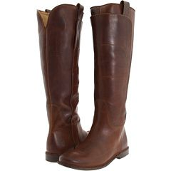 Frye -- Paige Tall Riding Boots --  Cognac Calf Shine -- Size 11    One black pair and one brown pair.  That's not too much to ask, is it? :D