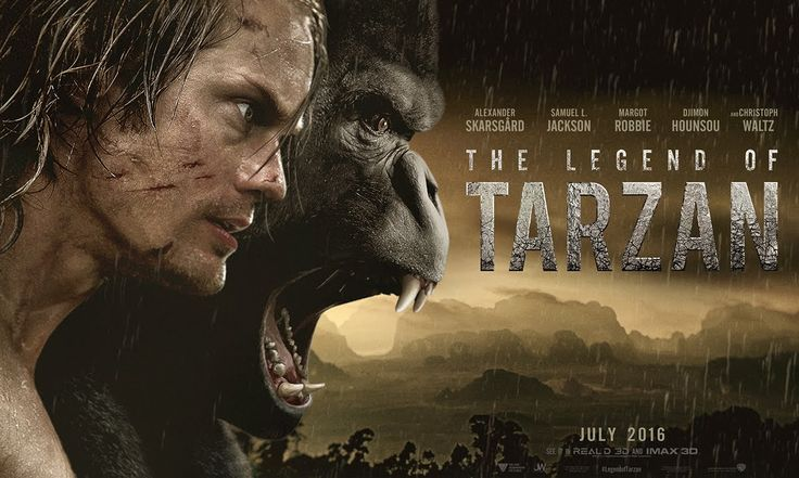 Warner Bros. has released the official teaser trailer for The Legend of Tarzan, directed by David Yates (who directed the last four Harry Potter films) and starring Alexander Skarsgård (who played …