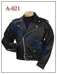 Jaket Kulit Motor Murah; Kode:A-021