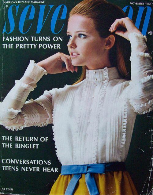 Seventeen magazine november 1967(simonsretro)  CHERYL TIEG