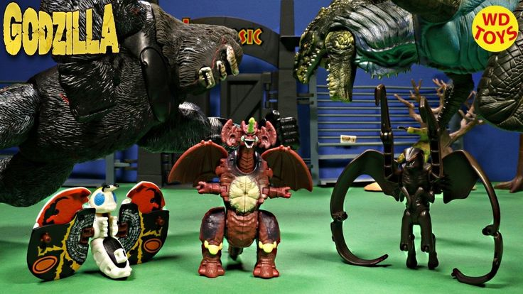 New 3 Godzilla Transforming Eggs Mothra, Muto, Destoroyah Vs King Kong J...