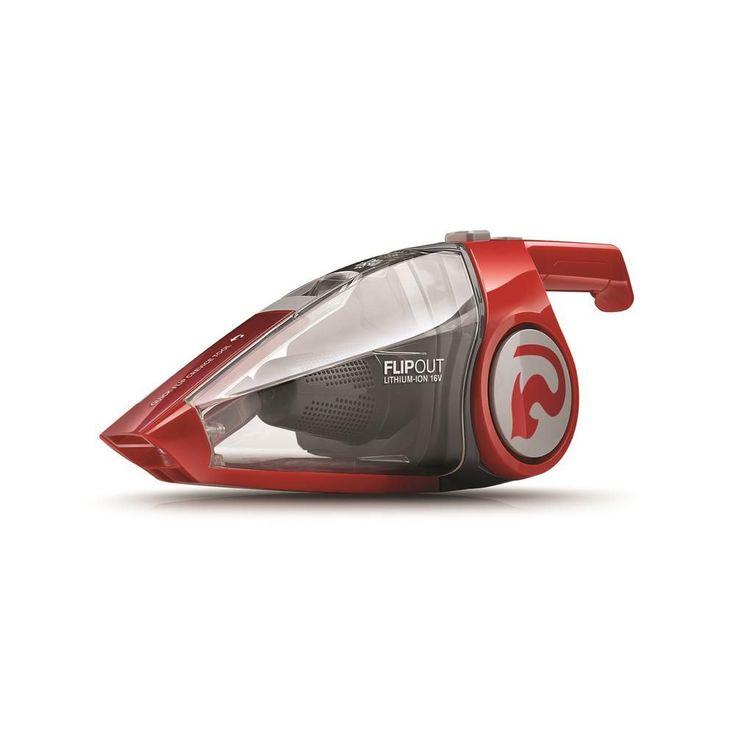Dirt Devil FlipOut 16-Volt Lithium-Powered Cordless Handheld Vacuum Cleaner, Reds/Pinks