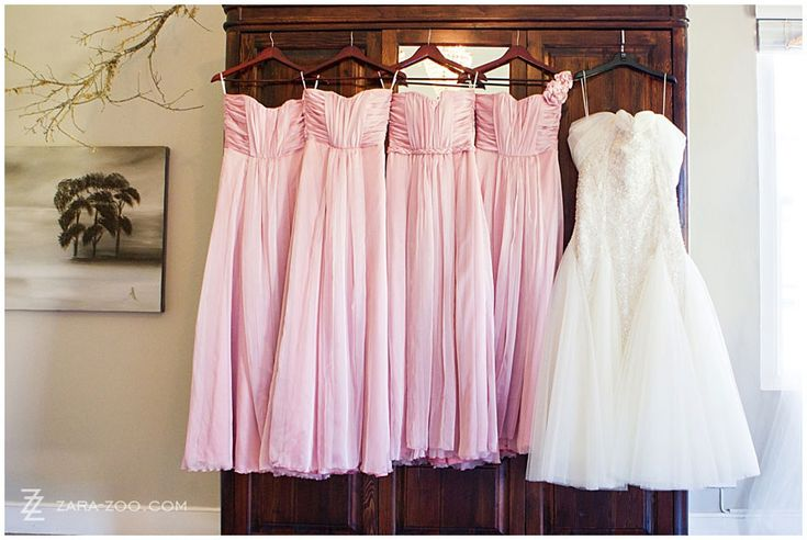 Bridesmaids dresses by Errol Arendz, the South African designer Photos by ZaraZoo Photography