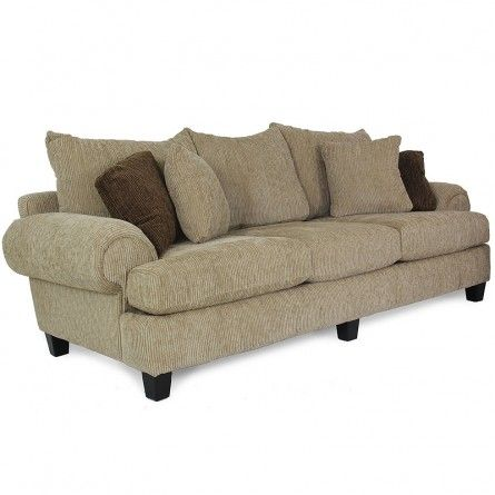 Carlton windfall sand sofa living room couch gallery for Furniture 77095