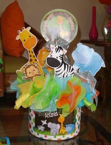 Decoracion safari centro de mesa buscar con google Ornamentacion con globos