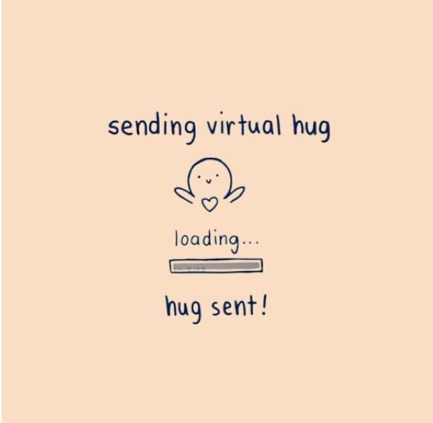 This hug is for you, and ONLY you, unless you give it to someone who needs it. Love you all to my followers