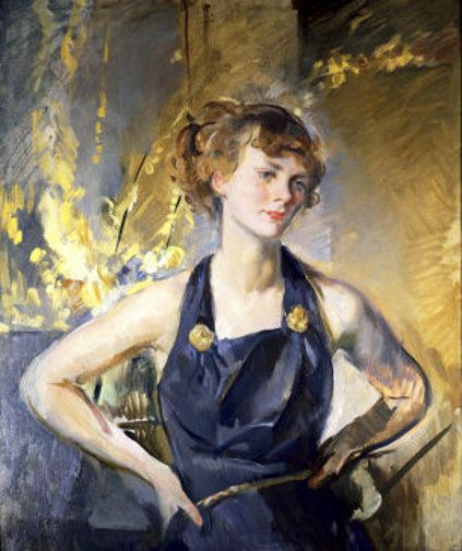 Young Woman by Alice Kent Stoddard (American 1884 – 1976)