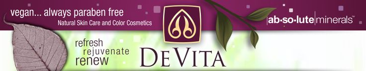 DeVita Natural Skin Care, paraben free natural skin care product & mineral makeup cosmetics.  Prime Corrective.