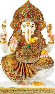 Oh Ganesha remover of obstacles clear my path today