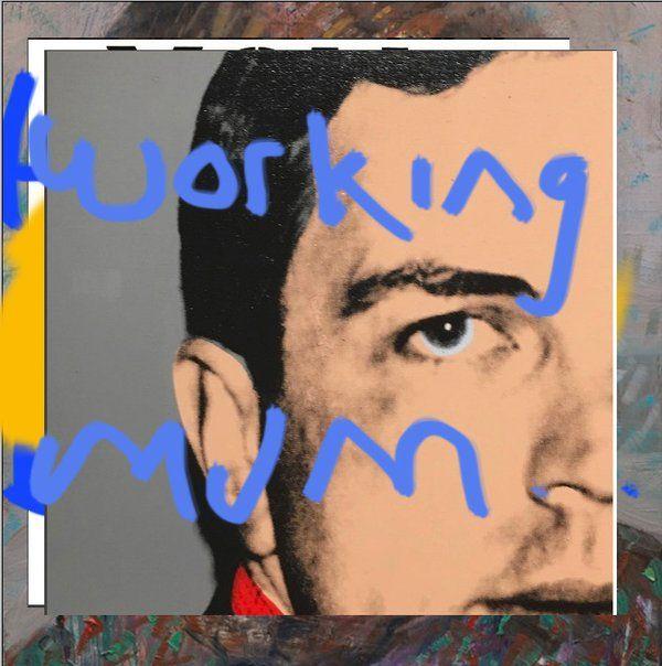 Working Mum by Lee Mcclymont 2016. #leemcclymont #christopherwool #jeanmichelbasquiat #andywarhol #keithharing #jeffkoons #charlesray #jasperjohns #bricemarden #cytwombly #mauriziocattelan #thebroadmuseum #kunstmuseumbasel #sfmoma #iconsandiconoclasts #cairnsregionalgallery #nationalgalleryofaustralia #qagoma #boundtofail #enso © Lee Mcclymont All Rights Reserved 2016. #yoga #meditation #vegetariandiet #qigung #ayurveda #wadeguyton #workingmum #vincentvangogh #illbeyourmirror