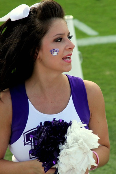 16 best images about tcu cheer on pinterest paint cheer