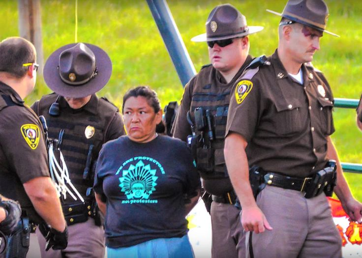ABC News and NBC News have yet to broadcast a word about the Dakota Access pipeline struggle,