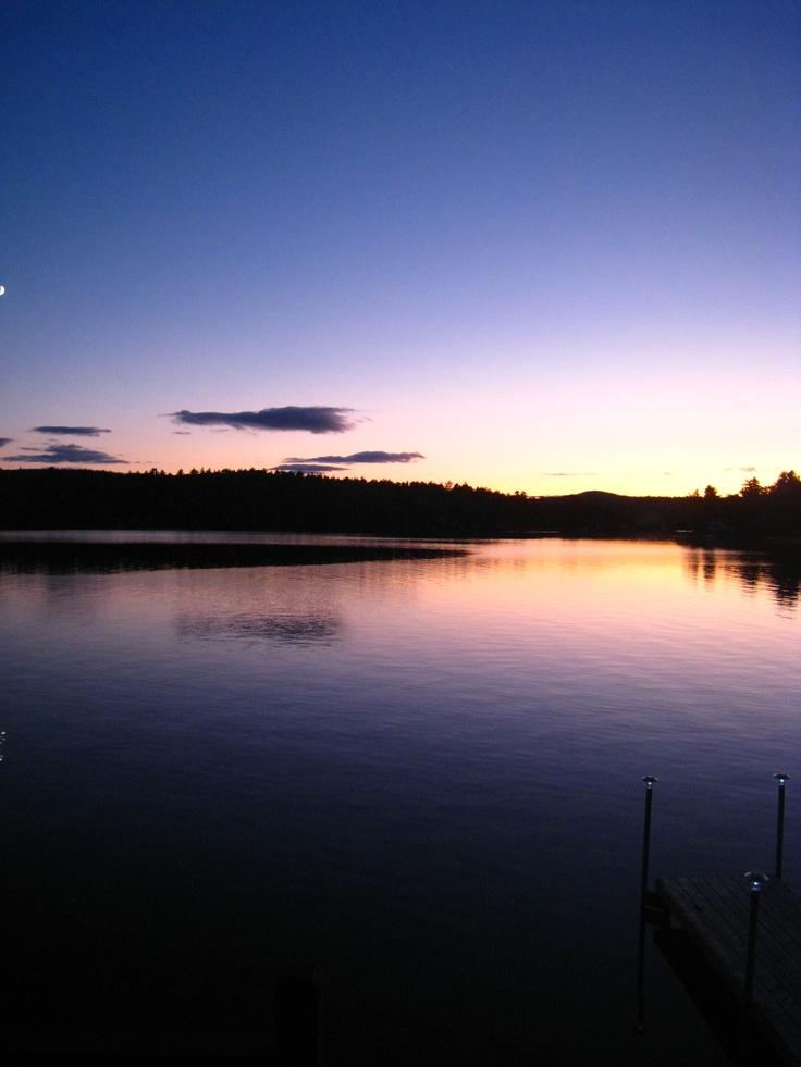 Northwood Lake. Northwood, NH