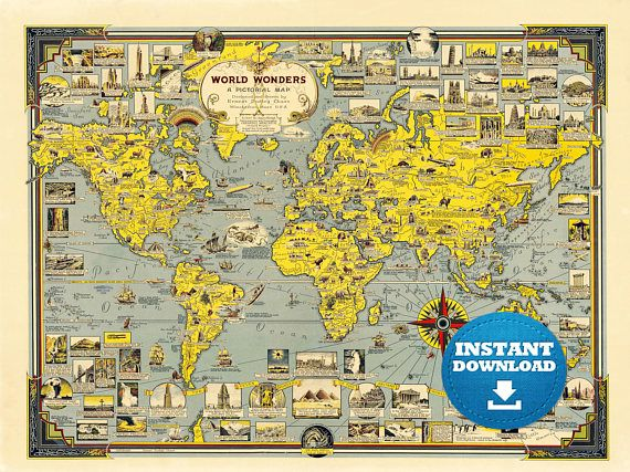 Ide World Map Printable Unik Di Pinterest - Large world map print out
