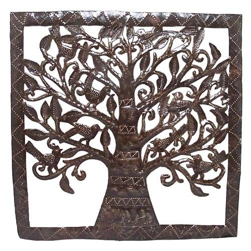 Cut Metal Tree of Life - Wall Art - Wall Décor - Products