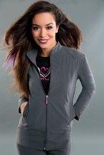Smitten Biker Chic Jacket Style S301001 Scrub jacket