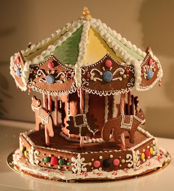 Gingerbread merry-go-round (South Africa), carousel (USA)