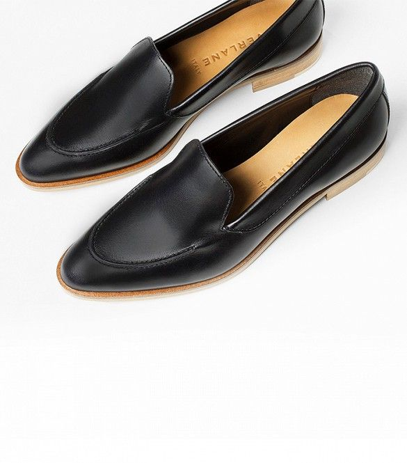5 Summer Flats That Follow Office Dress Code via @WhoWhatWear