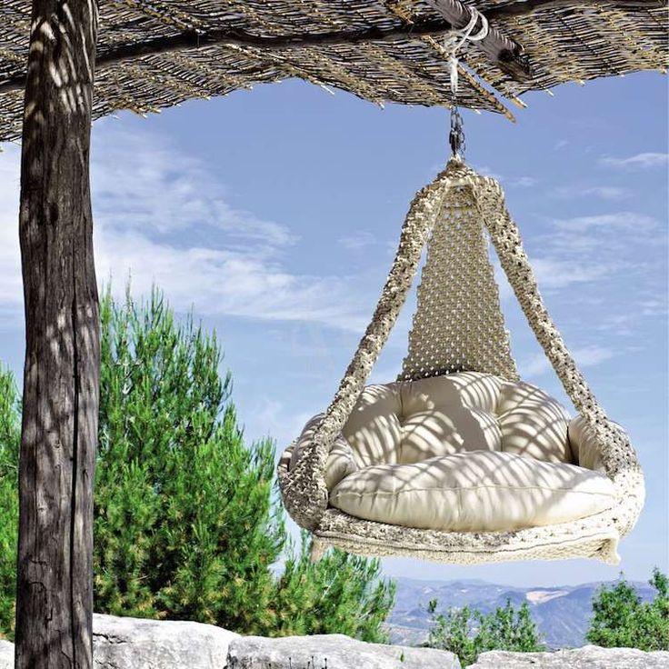 17 meilleures id es propos de fauteuil de jardin - Fauteuil suspendu de jardin ...