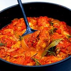 Chicken Cacciatora, a traditional Italian autumn recipe