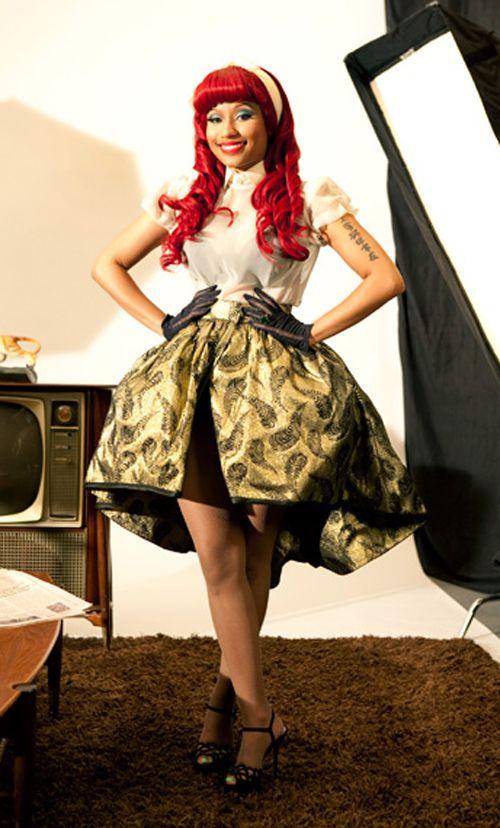Nicki Minaj rocking it!  I love this outfit!