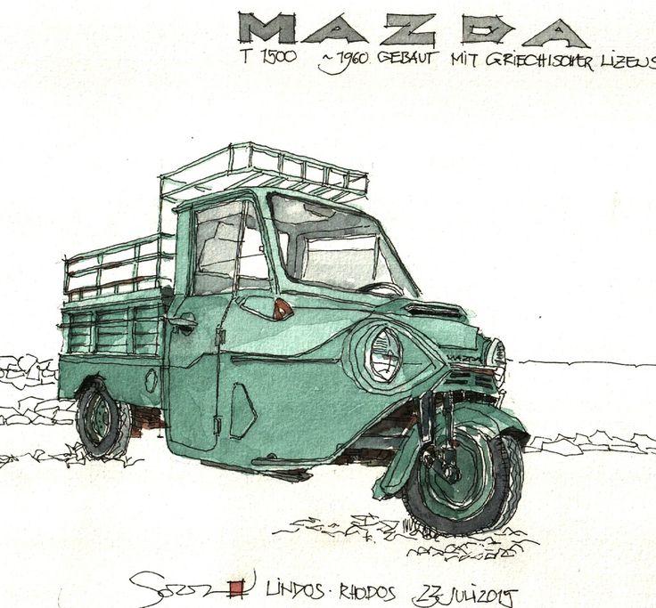 Mazda T1500, 1960