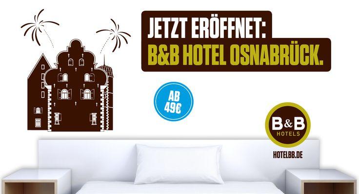 Jetzt eröffnet: B&B Hotel #Osnabrück - 77. B&B #Hotel in Deutschland