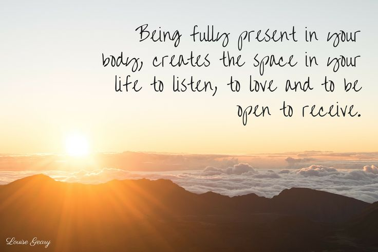 Create space in your life to receive wonderful and precious gifts.
