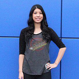 Vancouver Canucks Skate Scoop Neck Long Sleeve T-shirt - Shop.Canada.NHL.com