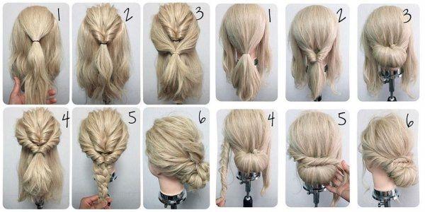 Zobacz zdjęcie Krok po kroku jak zrobić niebanalną ale prostą w wykonaniu fryzurę :) w pełnej rozdzielczości