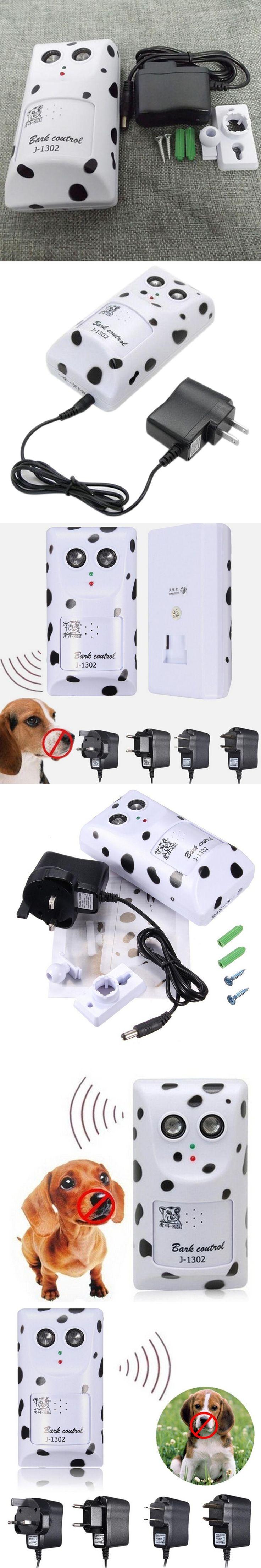 High quality Humanely Ultrasonic Anti No Bark Device Stop Control Dog Barking Silencer Hanger On Sale