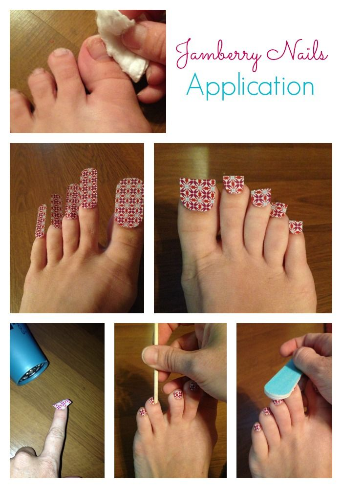 Jamberry Nails Application