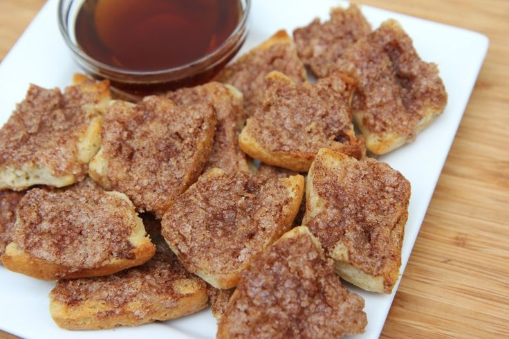 Cinnamon Toast Made With Sister Schubert's® Parker House Style Yeast Rolls by Divas Can Cook