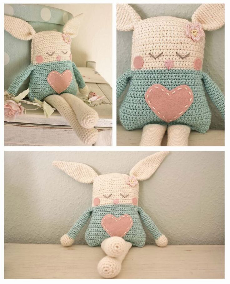 Crochet Rabbit Doll