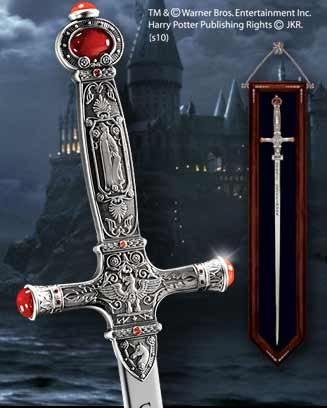 The Godric Gryffindor™ Sword   An authentic recreation of Godric Gryffindor's sword, as seen in the movie Harry Potter and the Chamber of Secrets