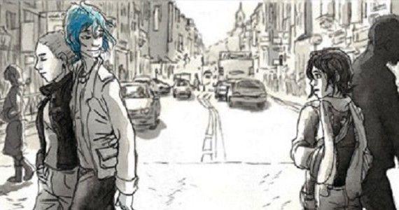 Grazie al film con Léa Seydoux e Adèle Exarchopoulos, questa graphic novel troverà spazio nelle librerie di molte persone che normalmente non sono molto attratte dai fumetti. Ciò farà sicuramente bene a Julie Maroh, disegnatrice ventottenne di Lens, ma, in questo caso, bisogna fare una bella distinzione tra il film e il fumetto.