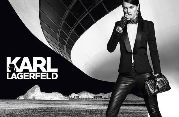 #IsabeliFontana for #KarlLagerfeld for #Riachuelo #Fall #Winter2016