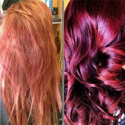 raspberry sundae hair color brown hairs