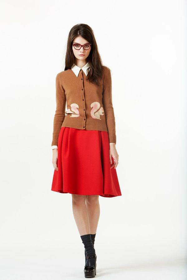 orla kiely fall 2013 by calivintage. This is great!