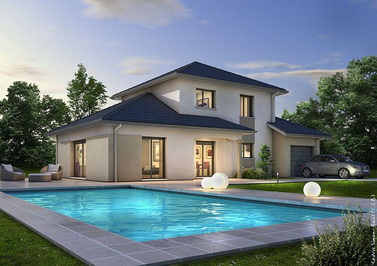 Les 8 meilleures images du tableau maison sur Pinterest Maisons - Cout Annexe Construction Maison