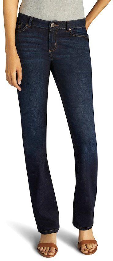 Lee Women's Modern Fit Curvy Bootcut Jeans